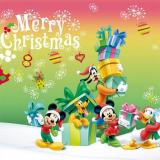 Disney karácsonyi kirakós játék 2