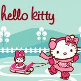 Hello Kitty karácsonyi kirakó