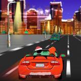 Karácsonyi futam - Outrun remake