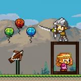 Pixel íjász hercegnő mentése